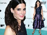 Sandra Bullock arrives at the Women in Film 2015 Crystal And Lucy Awards at the Hyatt Regency Century Plaza on Tuesday, June 16, 2015 in Los Angeles. (Photo by Richard Shotwell/Invision/AP)