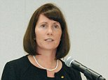 Toyota Motor Corp's Managing Officer and Chief Communications Officer Julie Hamp speaks to media during a news conference in Nagoya, central Japan, in this photo taken by Kyodo June 17, 2015 and released by Kyodo on June 18, 2015. Toyota Motor Corp's head of public relations, an American and its first female executive, was arrested on Thursday on a suspected violation of Japan's drug laws for sending a painkiller through the mail, Tokyo police said. Hamp, who was appointed to her post at Japan's biggest automaker in April, told police she did not think she had imported an illegal substance, a spokesman for Tokyo's Metropolitan Police Department said. Mandatory credit REUTERS/Kyodo ATTENTION EDITORS - FOR EDITORIAL USE ONLY. NOT FOR SALE FOR MARKETING OR ADVERTISING CAMPAIGNS. THIS IMAGE HAS BEEN SUPPLIED BY A THIRD PARTY. IT IS DISTRIBUTED, EXACTLY AS RECEIVED BY REUTERS, AS A SERVICE TO CLIENTS. MANDATORY CREDIT. JAPAN OUT. NO COMMERCIAL OR EDITORIAL SALES IN JAPAN