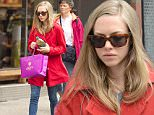 Mandatory Credit: Photo by Startraks Photo/REX Shutterstock (4850078c)\n Amanda Seyfried\n Amanda Seyfried out and about, New York, America - 18 Jun 2015\n Amanda Seyfried shopping with a friend in New York. She went shopping at Liberty and was spotted with a large bootle of green juice.\n
