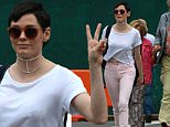Rose McGowan wears pink jeans and a crop top t-shirt as she goes out with a friend in the East Village of NYC.\n\nPictured: Rose McGowan\nRef: SPL1057688  180615  \nPicture by: Splash News\n\nSplash News and Pictures\nLos Angeles: 310-821-2666\nNew York: 212-619-2666\nLondon: 870-934-2666\nphotodesk@splashnews.com\n