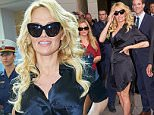 Mandatory Credit: Photo by Action Press/REX Shutterstock (4850139e)\n Pamela Anderson\n Pamela Anderson out and about, Vienna, Austria - 18 Jun 2015\n Pamela Anderson visits the Donau Zentrum shopping centre during Vienna Fashion Night 2015\n