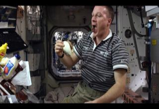 Space Cheeseburgers? Video Highlights Life Aboard ISS