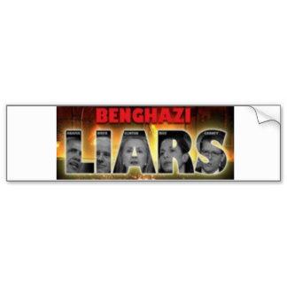 Benghazi LIARS Tshirts + Obama,Biden,Hillary,Rice Bumper Sticker