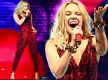 Kylie Minogue performs at Newmarket Nights 2015, held at the Newmarket Racecourse..Featuring: Kylie Minogue..Where: Newmarket, United Kingdom..When: 19 Jun 2015..Credit: WENN.com