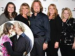 Mandatory Credit: Photo by REX Shutterstock (1695478a).. 'Sister Wives' cast.. 'Mike Tyson: Undisputed Truth, Live on Stage' Grand Opening Show at the Hollywood Theatre at the MGM Grand, Las Vegas, America - 14 Apr 2012.. ..