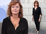TAORMINA, ITALY - JUNE 19:  Actress Susan Sarandon attends Day 7 of the 61st Taormina Film Fest on June 19, 2015 in Taormina, Italy.  (Photo by Venturelli/Getty Images)