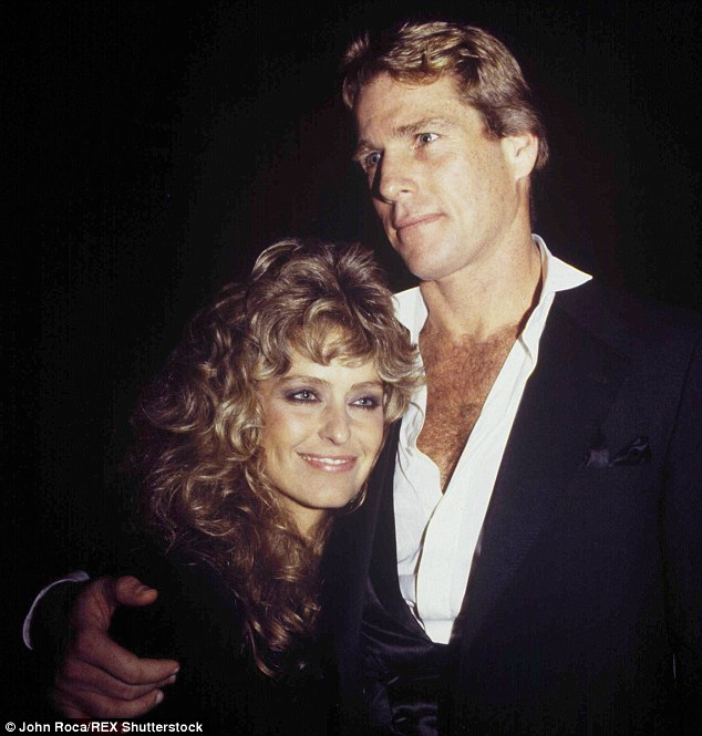 Glamour: Ryan O'Neal was the epitome of Hollywood style in the 1970s and 1980s. He partied and enjoyed life with his Farrah Fawcet - but Jan Gaye claims that he sexually assaulted her in a restaurant, which he denies
