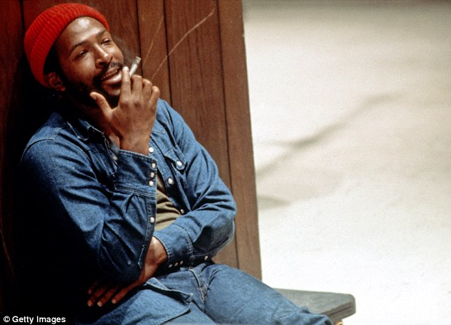Troubled genius: Marvin Gaye's hits included Sexual Healing and What's Going On, but his second marriage was blighted by drugs