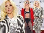 NEW YORK, NY - JUNE 18:  Contemporary Icon Award Recipient Lady Gaga poses backstage at the Songwriters Hall Of Fame 46th Annual Induction And Awards at Marriott Marquis Hotel on June 18, 2015 in New York City.  (Photo by Gary Gershoff/Getty Images for Songwriters Hall Of Fame)