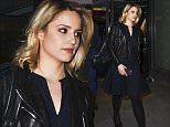 Picture Shows: Dianna Agron  June 20, 2015: June 19, 2015    Stars seen leaving a performance of 'McQueen' at St James Theatre in London, England.    Non Exclusive  WORLDWIDE RIGHTS    Pictures by : FameFlynet UK © 2015  Tel : +44 (0)20 3551 5049  Email : info@fameflynet.uk.com