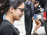 """New York, NY - Former """"High School Musical"""" actress and Broadway star Vanessa Hudgens appears to be enjoying her day off in New York as she is spotted getting into a vehicle in NY.  The pretty brunette showed off her muscular legs in a pair of high-waisted denim cutoffs  and accessorized with a pair of round sunglasses.  \n  \nAKM-GSI       June 20, 2015\nTo License These Photos, Please Contact :\nSteve Ginsburg\n(310) 505-8447\n(323) 423-9397\nsteve@akmgsi.com\nsales@akmgsi.com\nor\nMaria Buda\n(917) 242-1505\nmbuda@akmgsi.com\nginsburgspalyinc@gmail.com"""