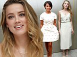 Amber Heard, who stars in the movie Magic Mike XXL, attends a press conference for the flim at the London Hotel in West Hollywood, 19 June 2015.\n20 June 2015.\nPlease byline: Vantagenews.co.uk