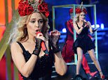 Kylie Minogue performs at the British Summer Time 2015 at Hyde Park on June 21, 2015 in London, England.