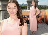PARIS, FRANCE - JUNE 19:  Actress Emilia Clarke poses during the France Photocall of 'Terminator Genisys' at the Publicis Champs Elysees on June 19, 2015 in Paris, France.  (Photo by Dominique Charriau/Getty Images for Paramount Pictures)