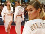 American model Gigi Hadid arrives at the MuchMusic Video Awards (MMVAs) in Toronto, June 21, 2015. REUTERS/Mark Blinch