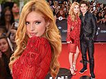 TORONTO, ON - JUNE 21:  Bella Thorne and Gregg Sulkin arrive at the 2015 MuchMusic Video Awards at MuchMusic HQ on June 21, 2015 in Toronto, Canada.  (Photo by George Pimentel/WireImage)