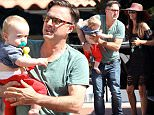Picture Shows: Charlie Arquette, David Arquette, Christina McLarty  June 20, 2015\n \n Actor, David Arquette and wife, Christina McLarty take their son, Charlie to a park in Malibu, California. Afterwards the family did a little shopping at Toy Crazy.\n \n EXCLUSIVE ALL ROUNDER\n UK RIGHTS ONLY\n \n Pictures by : FameFlynet UK © 2015\n Tel : +44 (0)20 3551 5049\n Email : info@fameflynet.uk.com