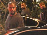 20.JUNE.2015 - WEST HOLLYWOOD - USA\n**EXCLUSIVE ALL ROUND PICTURES**\nKANYE WEST JOINS A FRIEND FOR AN ITALIAN DINNER AT AGO IN WEST HOLLYWOOD. THE RAPPER, WHO EAGERLY AWAITS BABY NUMBER TWO SHARES A FEW DEPARTING WORDS WITH HIS FRIEND WHILE HE WAITS FOR HIS RIDE FROM HIS VALET. \n*STRICTLY AVAILABLE FOR UK AND GERMANY USE ONLY*\nBYLINE MUST READ : XPOSUREPHOTOS.COM\n***UK CLIENTS - PICTURES CONTAINING CHILDREN PLEASE PIXELATE FACE PRIOR TO PUBLICATION ***\n*UK CLIENTS MUST CALL PRIOR TO TV OR ONLINE USAGE PLEASE TELEPHONE 0208 344 2007*