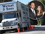 Moving trucks and movers were seen at the home of Ben Affleck and Jennifer Garner removing items from their house in Pacific Palisades\n\nPictured: Ben Affleck, Jennifer Garner\nRef: SPL1059305  200615  \nPicture by: Bauer-Griffin/Bauergriffin.com\n\n