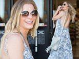 Calabasas, CA - LeAnn Rimes is all smiles as she picks up some groceries at Ralphs in Calabasas wearing a backless dress and no bra.\n AKM-GSI June 20, 2015\n \n To License These Photos, Please Contact :\n \n Steve Ginsburg\n (310) 505-8447\n (323) 423-9397\n steve@akmgsi.com\n sales@akmgsi.com\n \n or\n \n Maria Buda\n (917) 242-1505\n mbuda@akmgsi.com\n ginsburgspalyinc@gmail.com