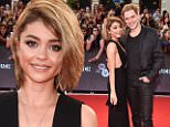 eURN: AD*173209912  Headline: 2015 MuchMusic Video Awards - Arrivals Caption: TORONTO, ON - JUNE 21:  Actress Sarah Hyland (L) and actor Dominic Sherwood arrive at the 2015 MuchMusic Video Awards at MuchMusic HQ on June 21, 2015 in Toronto, Canada.  (Photo by George Pimentel/WireImage) Photographer: George Pimentel  Loaded on 22/06/2015 at 02:15 Copyright: WIREIMAGE Provider: WireImage  Properties: RGB JPEG Image (17368K 1012K 17.2:1) 1976w x 3000h at 300 x 300 dpi  Routing: DM News : GroupFeeds (Comms), GeneralFeed (Miscellaneous) DM Showbiz : SHOWBIZ (Miscellaneous) DM Online : Online Previews (Miscellaneous), CMS Out (Miscellaneous)  Parking: