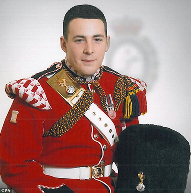 Threats: Horner told a photographer he could end up like murdered soldier Lee Rigby, pictured