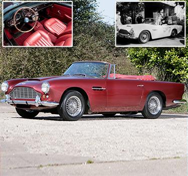 Ustinov's Aston Martin up for £1million