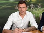 """""""@MarioMandzukic9 joins Juventus, penning a four-year deal with the club"""""""