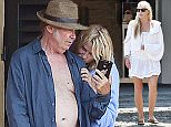 22.JUNE.2015 - PORTOFINO - ITALY ***EXCLUSIVE ALL ROUND PICTURES*** *** AVAILABLE FOR UK SALE ONLY *** CANADIAN ROCKER NEIL YOUNG PICTURED ENJOYING A ROMANTIC HOLIDAY WITH ACTRESS GIRLFRIEND DARYL HANNAH IN PORTOFINO, THE COUPLE ARE PICTURED ENJOYING THE SIGHTS AND HAVING SOME LUNCH BEFORE RETREATING TO THEIR VILLA WHERE THEY ARE SEEN LOOKING VERY MUCH LOVED UP! BYLINE MUST READ : XPOSUREPHOTOS.COM ***UK CLIENTS - PICTURES CONTAINING CHILDREN PLEASE PIXELATE FACE PRIOR TO PUBLICATION *** *THIS IMAGE IS STRICTLY FOR PAPER AND MAGAZINE USE ONLY - NO WEB ALLOWED USAGE UNLESS PREVIOUSLY AGREED. PLEASE TELEPHONE 0208 344 2007*