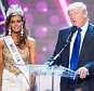 LAS VEGAS, NV - JUNE 16:  Miss Connecticut USA Erin Brady (L) and Donald Trump onstage after winning the 2013 Miss USA pageant at PH Live at Planet Hollywood Resort & Casino on June 16, 2013 in Las Vegas, Nevada.  (Photo by Michael Stewart/WireImage)