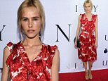 """LOS ANGELES, CA - JUNE 24:  Actress Isabel Lucas attends the world premiere screening of the documentary """"Unity"""" at the DGA Theater on June 24, 2015 in Los Angeles, California.  (Photo by David Livingston/Getty Images)"""