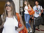 """Joe Manganiello arrives in Los Angeles ahead of his """"Magic Mike XXL"""" premier in Hollywood and as reports swirl that he and fiancee, Sofia Vergara are getting married sooner than later.  The hunky actor was seen at LAX.  Pictured: Joe Manganiello Ref: SPL1062635  240615   Picture by: Splash News  Splash News and Pictures Los Angeles: 310-821-2666 New York: 212-619-2666 London: 870-934-2666 photodesk@splashnews.com"""