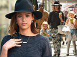 Picture Shows: Jessica Alba, Haven Warren  June 24, 2015\n \n 'Sin City' star Jessica Alba and her two young daughters, Honor and Haven, run errands in New York City, New York.\n \n Jessica and her family have been in the Big Apple for her to attend meetings for her Honest Company, which has established Jessica as a suave businesswoman as well as a talented actress.\n \n Non Exclusive\n UK RIGHTS ONLY\n \n Pictures by : FameFlynet UK © 2015\n Tel : +44 (0)20 3551 5049\n Email : info@fameflynet.uk.com