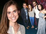 """eURN: AD*173436031  Headline: Celebrities Visit Broadway - June 23, 2015 Caption: NEW YORK, NY - JUNE 23:  Allison Williams (who played 'Peter Pan"""" in NBC's LIVE television production) and Melanie Moore (""""So You Think You Can Dance"""" Season 8 Winner who plays """"Peter Pan"""") pose backstage at the hit musical """"Finding Neverland"""" on Broadway at The Lunt Fontanne Theater on June 23, 2015 in New York City.  (Photo by Bruce Glikas/FilmMagic) Photographer: Bruce Glikas  Loaded on 24/06/2015 at 14:03 Copyright: FilmMagic Provider: FilmMagic  Properties: RGB JPEG Image (49548K 1801K 27.5:1) 3396w x 4980h at 300 x 300 dpi  Routing: DM News : GroupFeeds (Comms), GeneralFeed (Miscellaneous) DM Showbiz : SHOWBIZ (Miscellaneous) DM Online : Online Previews (Miscellaneous), CMS Out (Miscellaneous)  Parking:"""