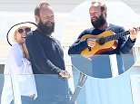 Sting and wife, Trudie Styler spotted at Hotel du Cap-Eden-Roc in Antibes, France.  Pictured: Sting and Trudie Styler Ref: SPL1062103  240615   Picture by: Splash News  Splash News and Pictures Los Angeles: 310-821-2666 New York: 212-619-2666 London: 870-934-2666 photodesk@splashnews.com