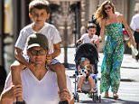 EXCLUSIVE: Gisele Bundchen and Tom Brady were seen enjoying a beautiful day in New York with their kids.\n\nPictured: Gisele Bundchen and Tom Brady\nRef: SPL1062119  250615   EXCLUSIVE\nPicture by: Splash News\n\nSplash News and Pictures\nLos Angeles: 310-821-2666\nNew York: 212-619-2666\nLondon: 870-934-2666\nphotodesk@splashnews.com\n