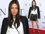 Mandatory Credit: Photo by REX Shutterstock (4875907n).. Jessica Gomes.. 'Unity' documentary film premiere, Los Angeles, America - 24 Jun 2015.. ..