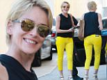 eURN: AD*173496265  Headline: Sharon Stone exits Barneys New York with a smile Caption: Beverly Hills, CA - Sharon Stone exits Barneys New York in Beverly Hills with a smile. The actress waved at the cameras as she returned to her car at the valet in bright yellow skinnies and heels. AKM-GSI    June  24, 2015 To License These Photos, Please Contact : Steve Ginsburg (310) 505-8447 (323) 423-9397 steve@akmgsi.com sales@akmgsi.com or Maria Buda (917) 242-1505 mbuda@akmgsi.com ginsburgspalyinc@gmail.com Photographer: RMBI  Loaded on 25/06/2015 at 04:07 Copyright:  Provider: RMBI/AKM-GSI  Properties: RGB JPEG Image (19997K 2127K 9.4:1) 2133w x 3200h at 300 x 300 dpi  Routing: DM News : GeneralFeed (Miscellaneous) DM Showbiz : SHOWBIZ (Miscellaneous) DM Online : Online Previews (Miscellaneous), CMS Out (Miscellaneous)  Parking: