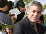 George Clooney and Amal Clooney and attend the premiere of Disney's 'Tomorrowland', held at AMC Downtown Disney 12 Theater on May 9, 2015 in Anaheim, California. \n\nPictured: George Clooney and Amal Clooney\nRef: SPL1021781  090515  \nPicture by: @Parisa/Splash News\n\nSplash News and Pictures\nLos Angeles: 310-821-2666\nNew York: 212-619-2666\nLondon: 870-934-2666\nphotodesk@splashnews.com\n