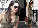 Mandatory Credit: Photo by Beretta/Sims/REX Shutterstock (4881153b)  Amal Clooney  Amal Clooney out and about, London, Britain - 25 Jun 2015