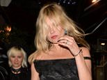 Mandatory Credit: Photo by Palace Lee/REX Shutterstock (4850851k)  Kate Moss  Sadie Frost's 50th Birthday Party, London, Britain - 20 Jun 2015