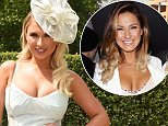 16 June 2015. Royal Ascot Day One held at Ascot Racecourse, Ascot, Berkshire Here: Billie Faiers Credit: Justin Goff/GoffPhotos.com   Ref: KGC-03