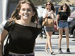 EXCLUSIVE TO INF. June 24, 2015: Cindy Crawford and her look-alike daughter, Kaia Gerber, stop by CVS in Malibu, California today. Mandatory Credit: Borisio/INFphoto.com Ref: infusla-277