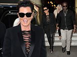 Kris Jenner and Corey Gamble leaving the coste\n25 June 2015.\nPlease byline: Vantagenews.co.uk