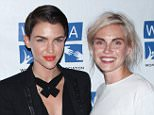 Mandatory Credit: Photo by MediaPunch/REX Shutterstock (4848057bl).. Ruby Rose, Phoebe Dahl.. 'Orange is the New Black' WPA screening, New York, America - 12 Jun 2015.. ..