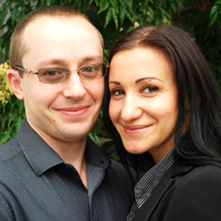 Christina Knorr and her Husband