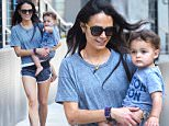 Jordana Brewster with her son Julian out for a walk downtown in NYC.\n\nPictured: Jordana Brewster, Julian Brewster\nRef: SPL1062445  250615  \nPicture by: Ron Asadorian / Splash News\n\nSplash News and Pictures\nLos Angeles: 310-821-2666\nNew York: 212-619-2666\nLondon: 870-934-2666\nphotodesk@splashnews.com\n
