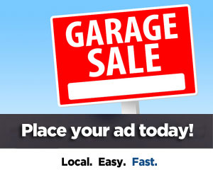 Place Your Garage Sale Ad