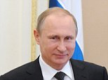 MOSCOW, RUSSIA. JUNE 25, 2015. Russia's President Vladimir Putin (R) at a meeting of the Russian Security Council, at Moscow's Kremlin. PHOTOGRAPH BY TASS / Barcroft Media UK Office, London. T +44 845 370 2233 W www.barcroftmedia.com USA Office, New York City. T +1 212 796 2458 W www.barcroftusa.com Indian Office, Delhi. T +91 11 4053 2429 W www.barcroftindia.com