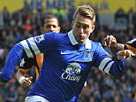File Photo: Gerard Deulofeu set to join Everton Everton's Gerard Deulofeu (left) and Hull City's Maynor Figueroa battle for the ball ... Soccer - Barclays Premier League - Hull City v Everton - KC Stadium ... 11-05-2014 ... Hull ... United Kingdom ... Photo credit should read: David Howarth/EMPICS Sport. Unique Reference No. 19792032 ...